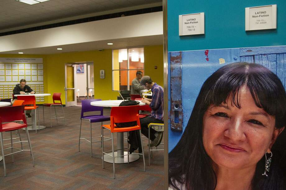 The Latino Collection and Resource Center at the Central Library recently opened as part of the collection's expansion to highlight Latino culture, featuring works in Spanish, English and even Spanglish. Photo: Alma E. Hernandez / For The Express-News