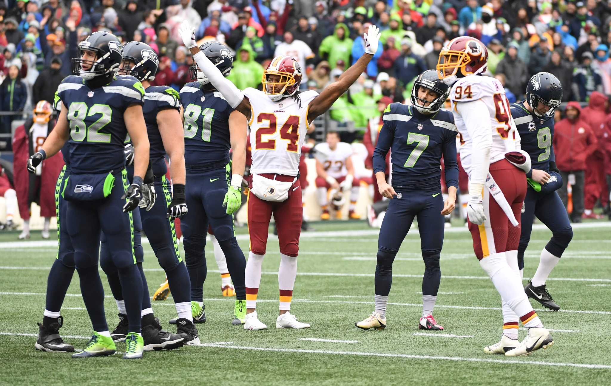 best worst moments from the redskins u0027 17 14 win over the seahawks