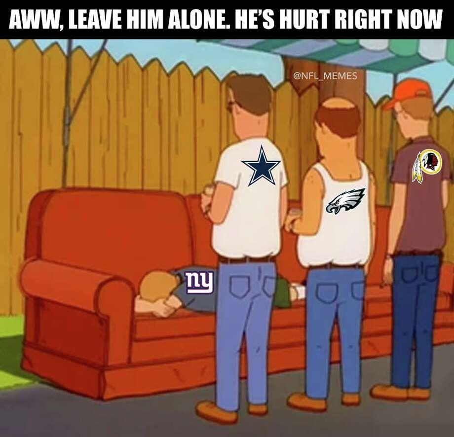 Source: Facebook (NFL Memes) Photo: Facebook (NFL Memes)