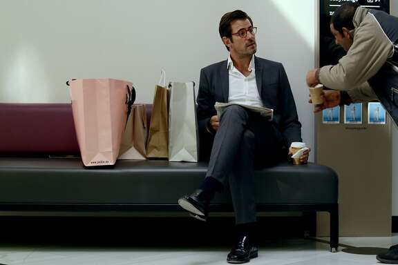 "This image released by Magnolia Pictures shows Claes Bang in a scene from ""The Square.""  (Magnolia Pictures via AP)"