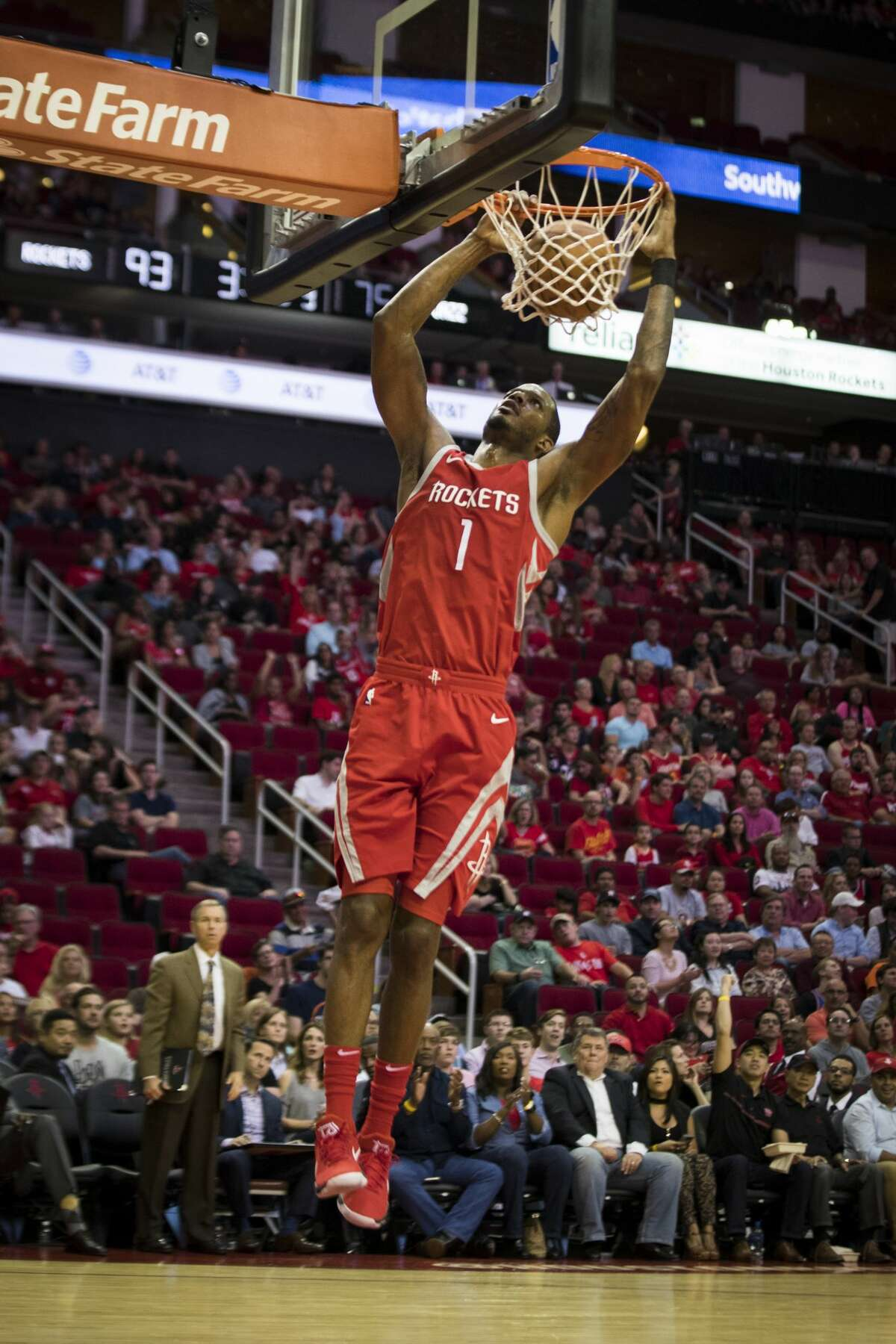 Rockets forward Trevor Ariza is averaging 14.3 points per game in his last eight games - a big improvement on his first six games.