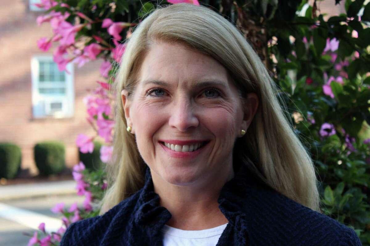 Darien First Selectman Jayme Stevenson is seeking re-election Nov. 7, 2017.