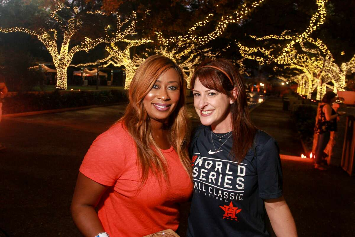 Scenes from the Houston Zoo's Feast With the Beasts.This is the 12th annual food, beer and wine celebration, which features more than 60 restaurants. (For the Chronicle/Gary Fountain, November 3, 2017)