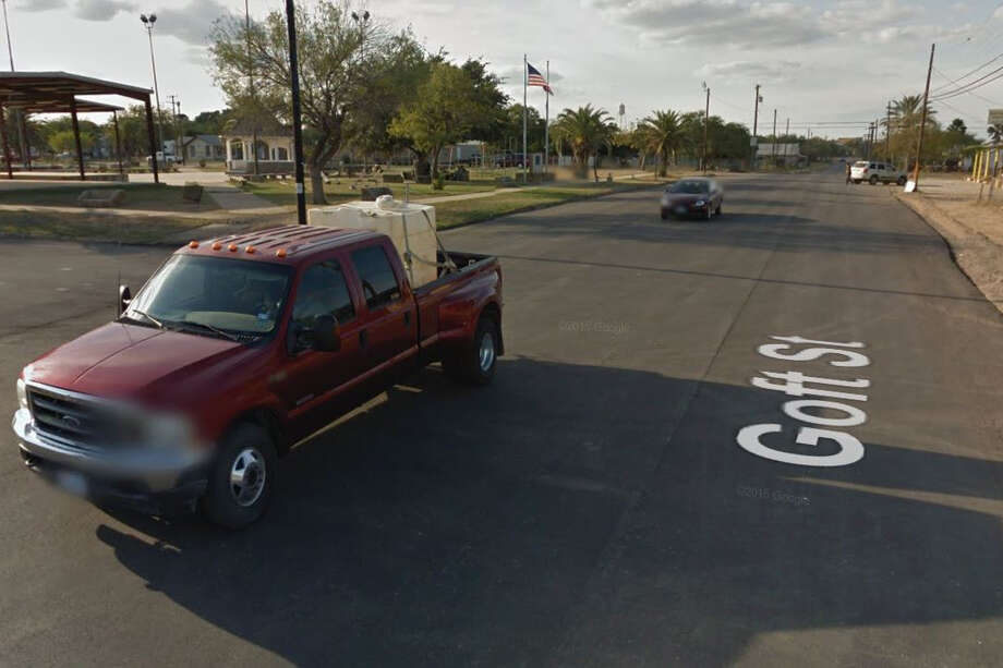 Nelda Reyes was taken into custody at an address in the 700 block of Goft Street in Cotulla on the federal arrest warrant. Photo: Google Maps/Street View