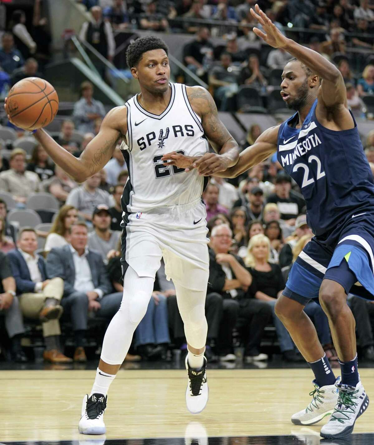 Rudy Gay is looking like a bargain pickup for the Spurs.