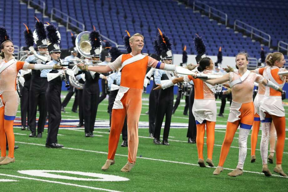 Photos Marching Bands Compete At Bands Of America San