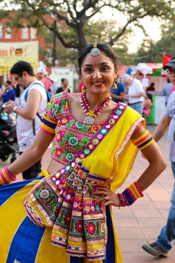 Music, food, dancing and fun filled La Villita on Saturday, Nov. 4, 2017, for the city's annual DiwaliSA. Diwali, also known as the Festival of Lights, celebrates the triumph of good over evil and ends with a spectacular fireworks display. Photo: Stacey Lovett, For MySA.com