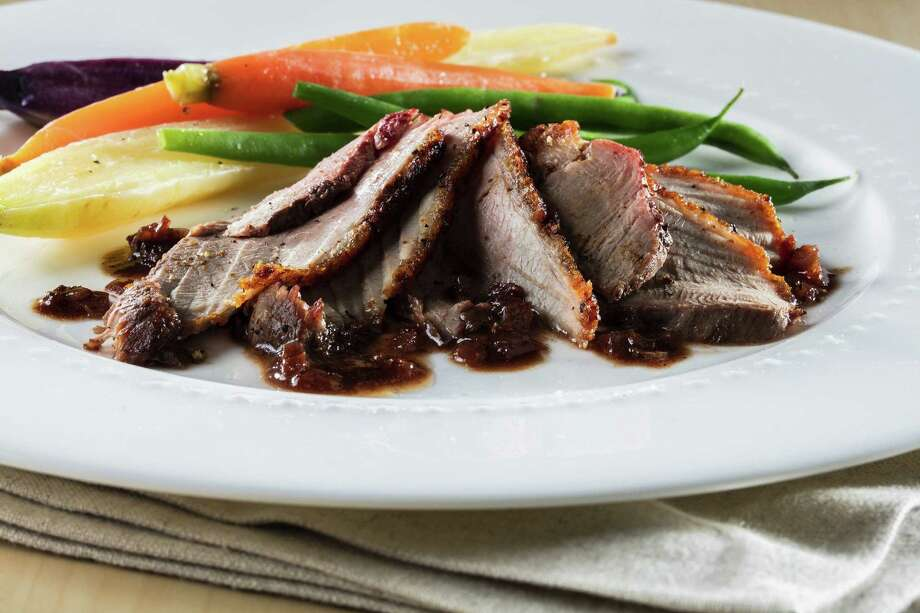 Duck Breast in Butter and Wine Sauce tastes decadent, but it's not difficult to prepare. Photo: Zbigniew Bzdak / Chicago Tribune, MBR / Chicago Tribune