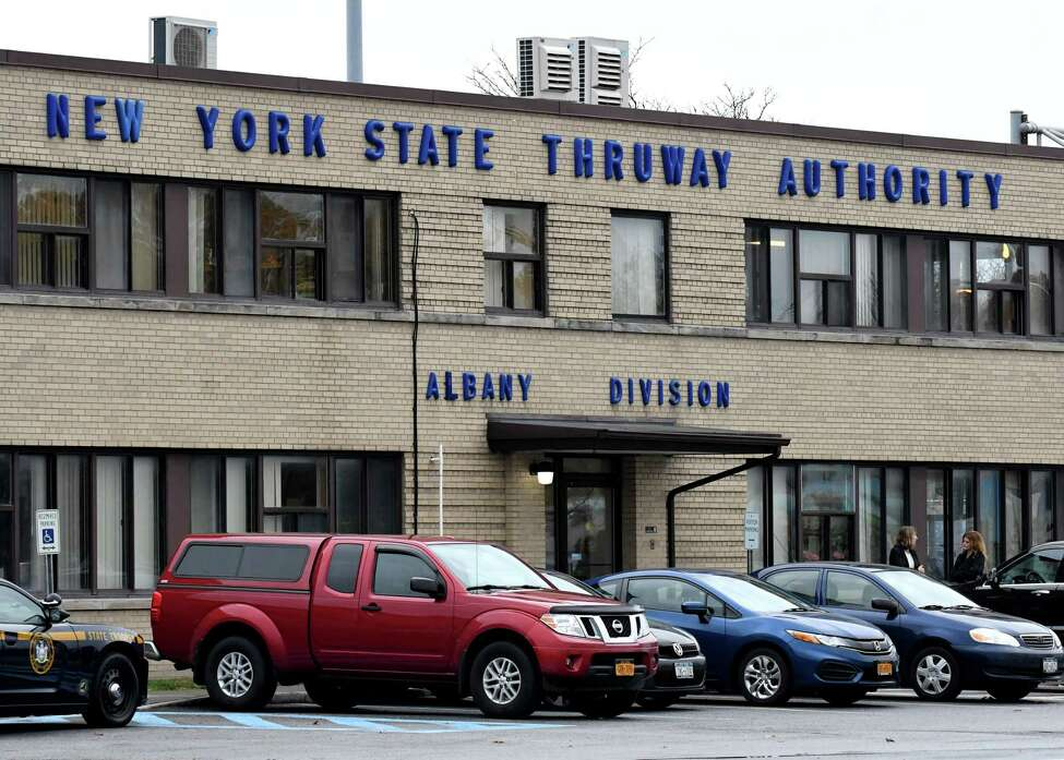 New York State Thruway Authority Albany Division building on Monday, Nov. 6, 2017, in Albany, N.Y. (Will Waldron/Times Union)