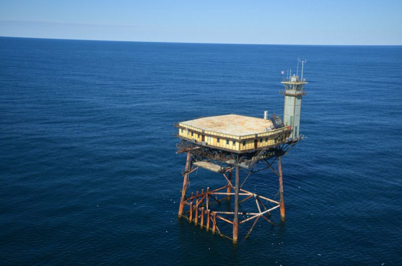 Man Converts Offshore Coast Guard Station Into The Frying