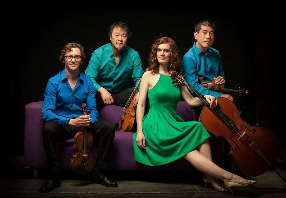 S.F.'s Del Sol String Quartet marks its quarter-century anniversary. Photo: Matthew Washburn