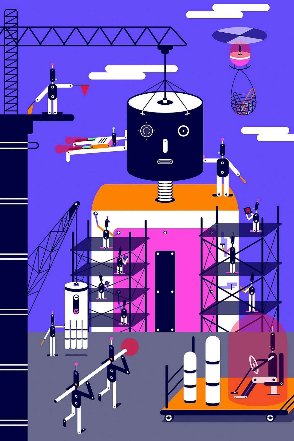 Google and others, fighting for a small pool of researchers, are looking for automated ways to deal with a shortage of artificial intelligence experts. (Mengxin Li/The New York Times) -- NO SALES; FOR EDITORIAL USE ONLY WITH AI TECH BY CADE METZ FOR NOV. 6, 2017. ALL OTHER USE PROHIBITED. --
