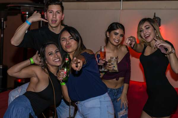 San Antonio bar and club Burnhouse hosted Rooftop Fridays on Nov. 3, 2017. A live DJ spun hip-hop and Top 40 hits throughout the night at the rooftop Stone Oak-area club while club-goers danced the night away.