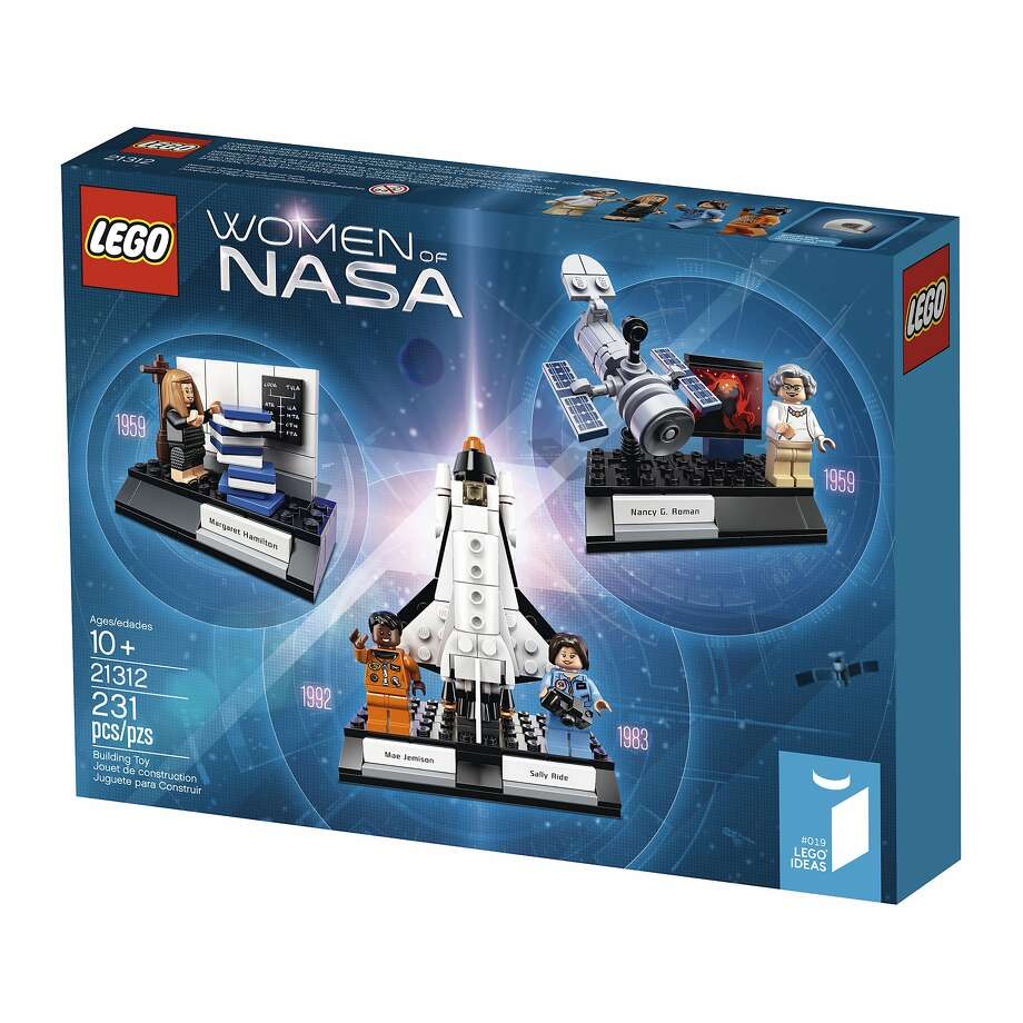 Lego's Women of NASA set includes Sally Ride, the first American female astronaut, and Mae Jemison, the first black woman to travel in space. Photo: Associated Press