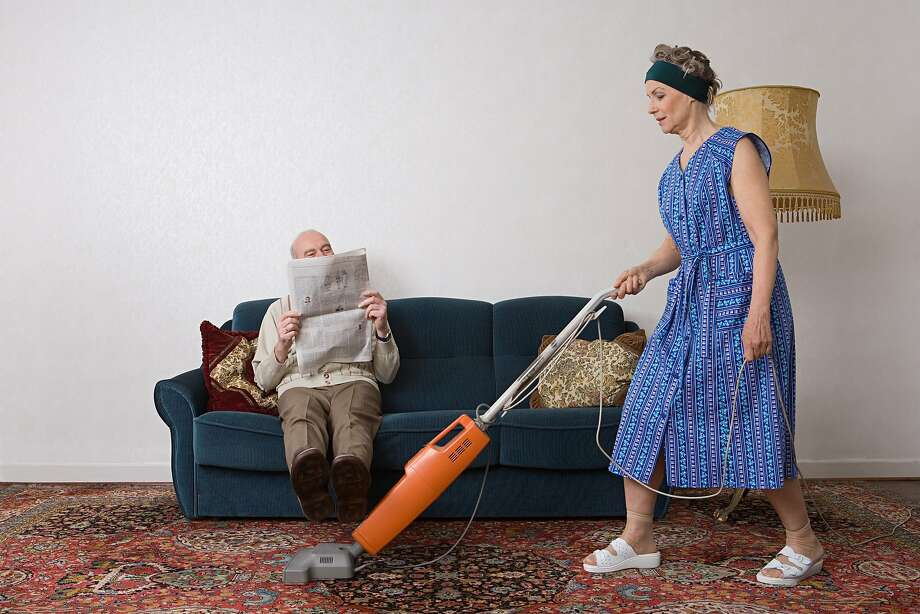 A woman isn't sure how to deal with her prickly husband. Photo: Image Source, Getty Images/Image Source