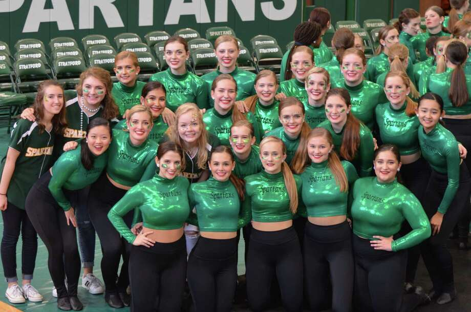 The Stratford High Spartanaires will be marching in the Macy's Thanksgiving Day Parade in New York on Nov. 23, 2017. Photo: Dina Kesbeh