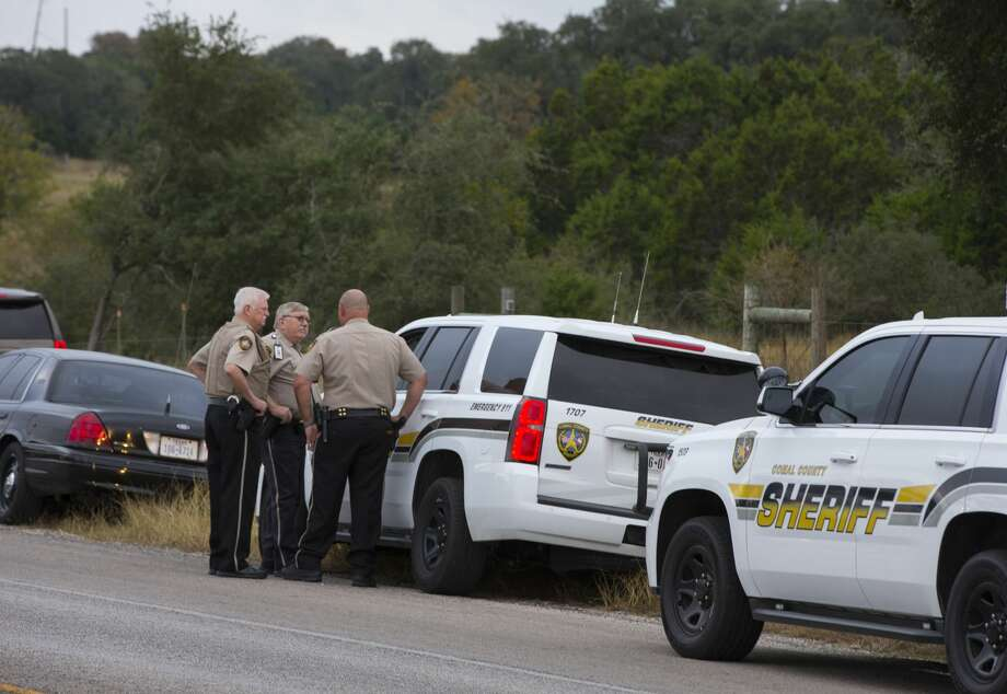 Comal County Deputy Ray Horn, 44, died following the accident, Schertz police said. Photo: Erich Schlegel/Getty Images