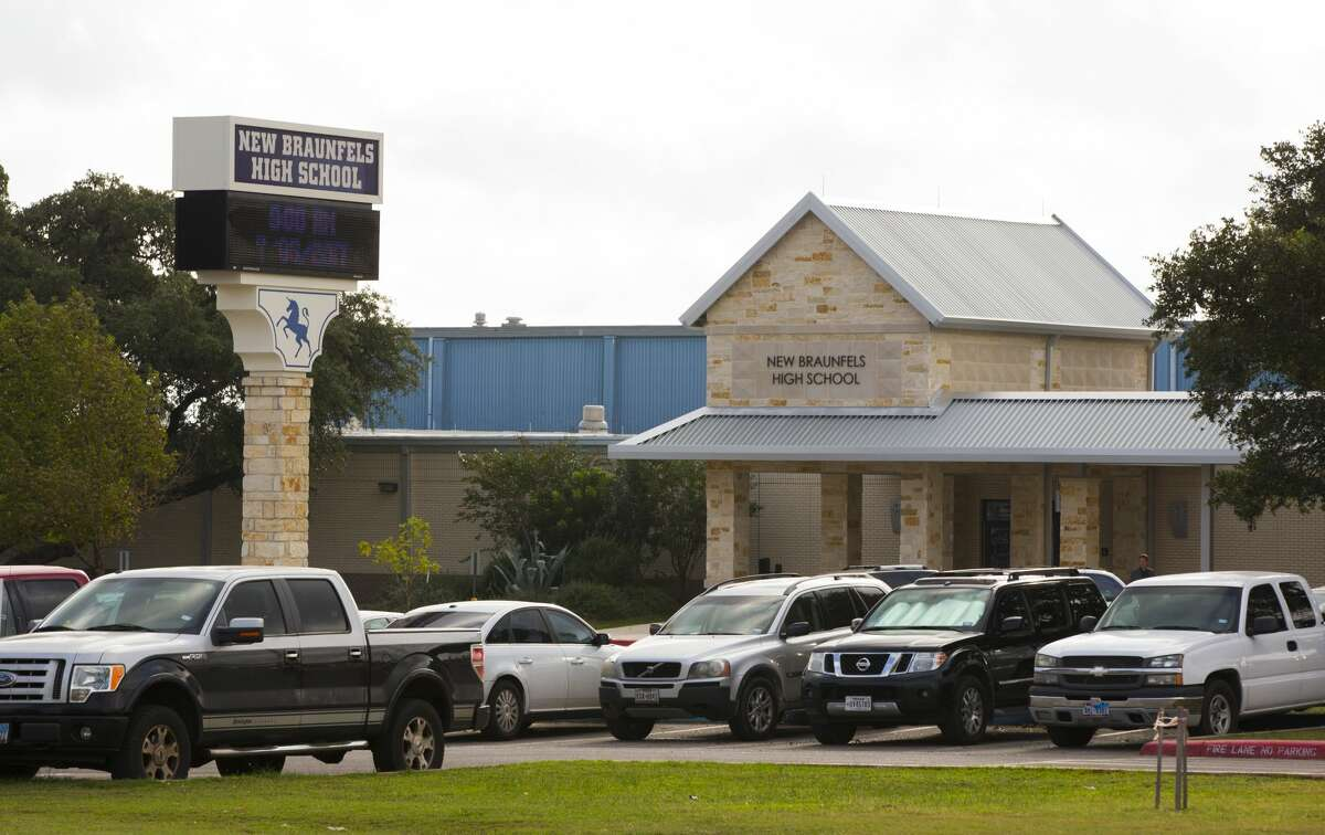 A New Braunfels High School student was detained on April 4, 2018 after police discovered a threatening social media post. (Photo by Erich Schlegel/Getty Images)
