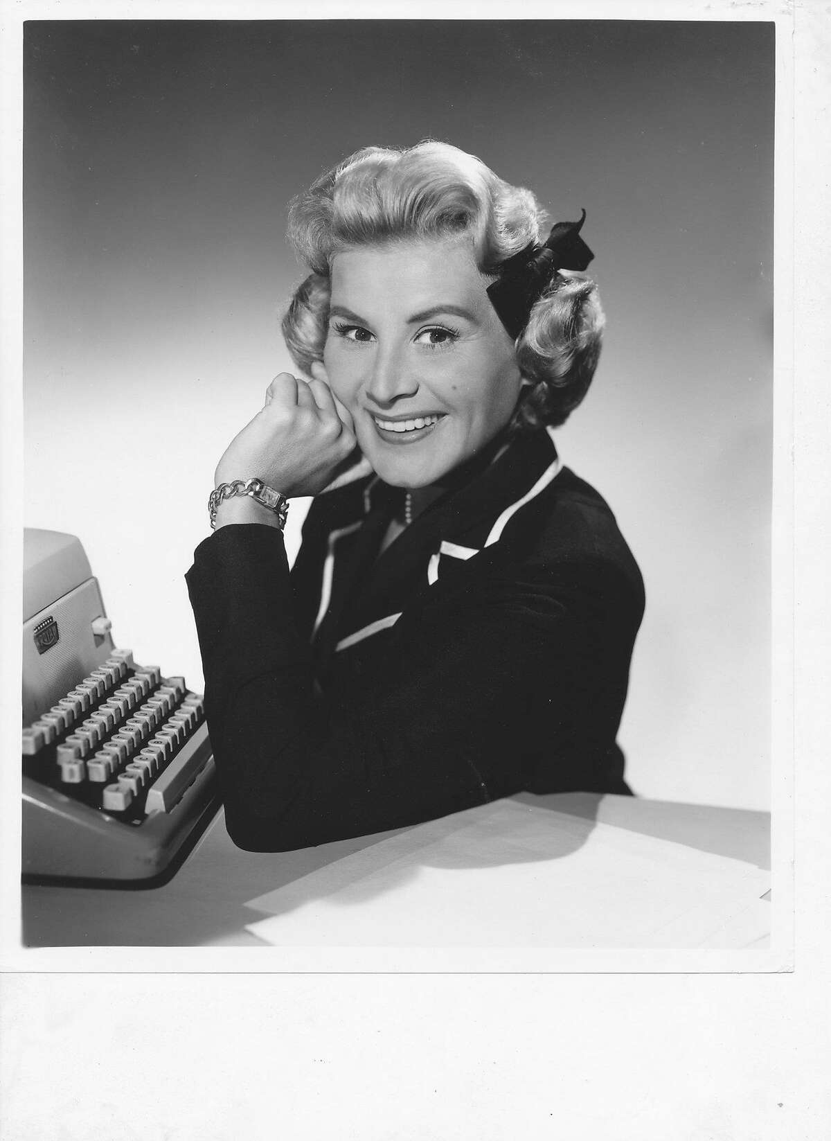 """Undated photo of singer/actress/comedienne Rose Marie, subject of the documentary """"Wait for Your Laugh."""""""