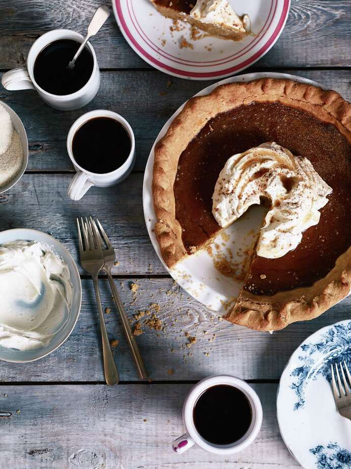 Brown Butter Salted Maple Pumpkin PieA rich, classic autumn-holiday offering perfect for any feast.Read the recipe. Photo: Emma Lee
