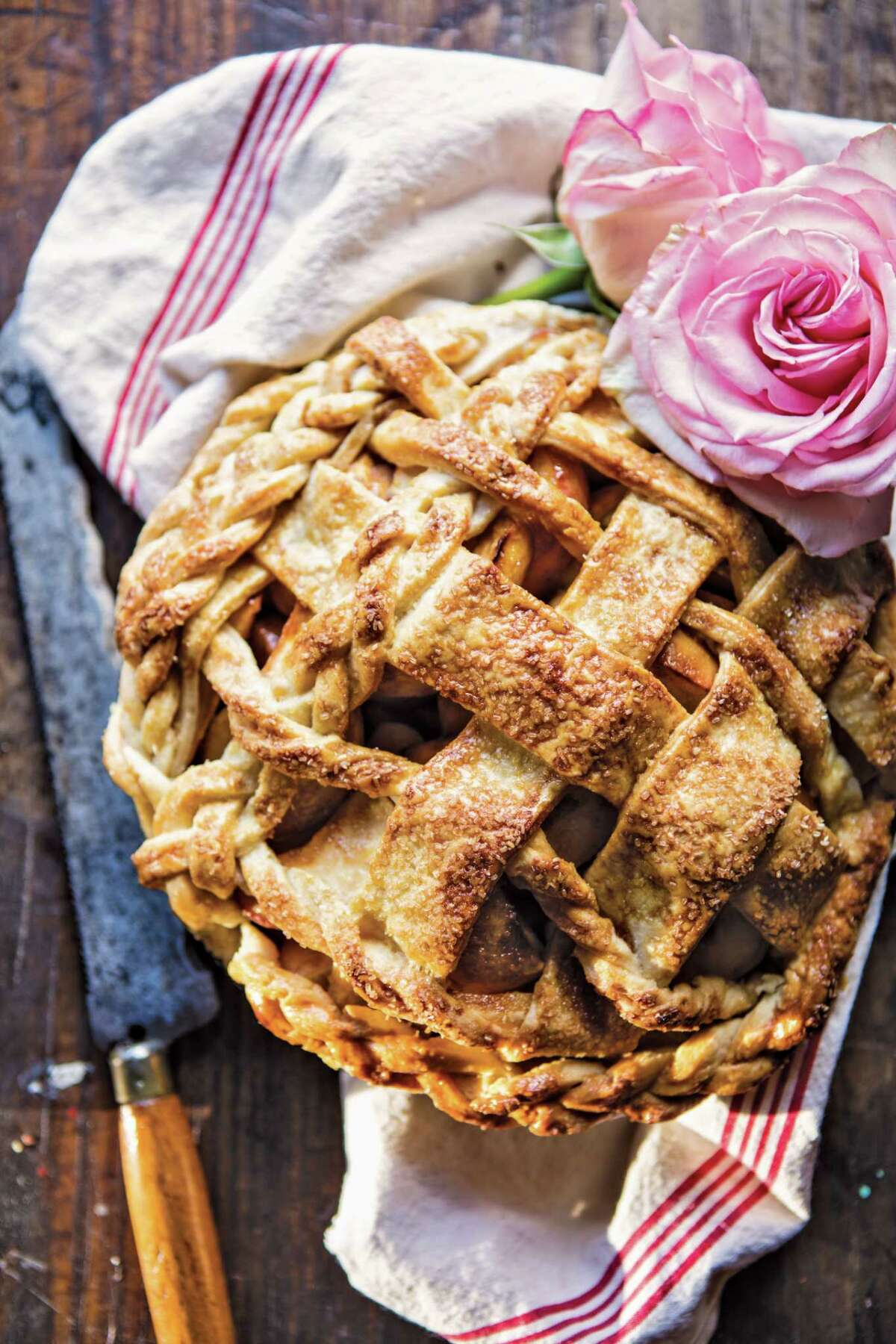 Salted Treacle Butter Apple Pie A beautiful classic that is the epitome of fall. Read the recipe.