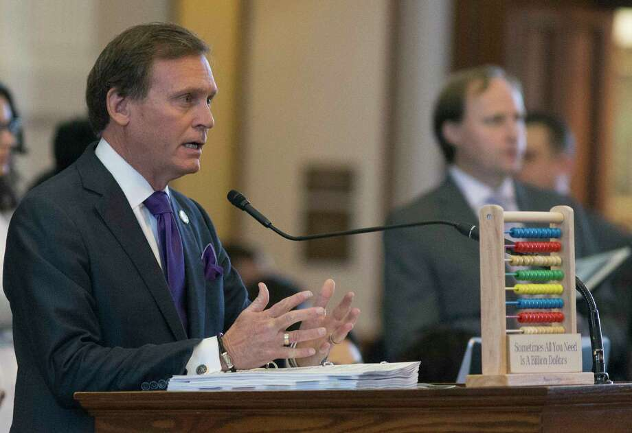 House Appropriations Committee chairman Rep. John Zerwas speaks on the floor during a House session to pass a budget for the next two years at the Texas Capitol in Austin, Thursday, April 6, 2017. (Stephen Spillman / for Express-News) Photo: Stephen Spillman / stephenspillman@me.com Stephen Spillman