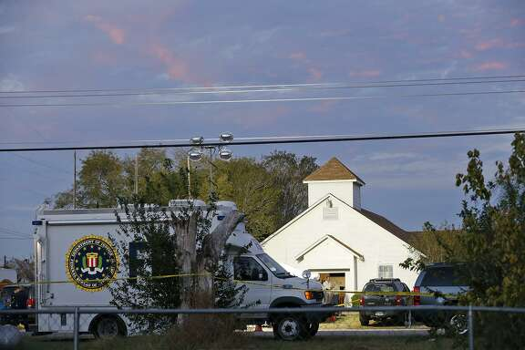 An H-E-B employee that worked at the company's Floresville location for 22 years was killed when gunman Devin Patrick Kelley opened fire Sunday on a congregation at First Baptist Church in Sutherland Springs, a company spokeswoman said Monday.