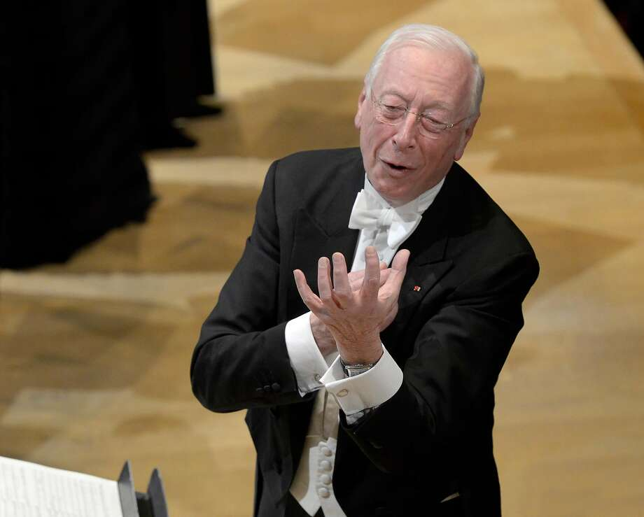 William Christie is the leader of Paris' Les Arts Florissants. Photo: Pascal Gely, � Pascal GELY