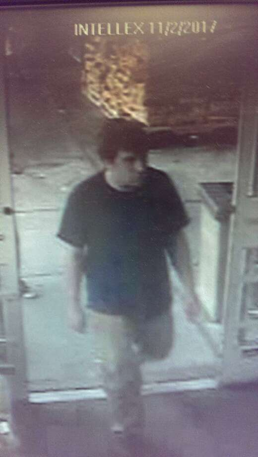 New Milford police say this man tried to steal shrimp and beer from Stop & Shop. Photo: Contributed Photo