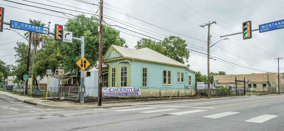 The Cherrity Bar at 302 Montana St. sits next door to the Alamodome and is a project spearheaded by David Malley. The aim of the bar, which Malley expects to open in January, is to provide philanthropic support to area nonprofits. Photo: Courtesy Photo