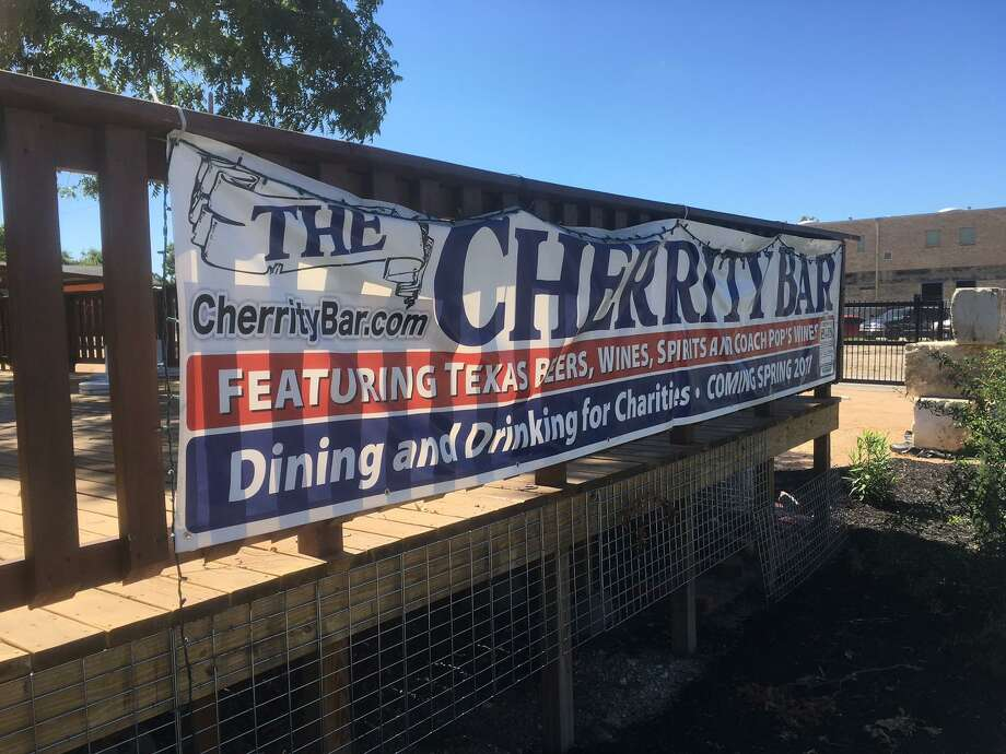 Cherrity Bar at 302 Montana St, near the Alamodome is set to open next week. Photo: Chuck Blount / San Antonio Express-News