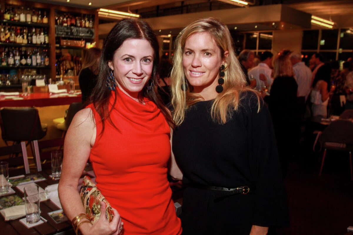 Marguerite Johnson, left, and Molly Neff at Sunday Supper. The event is hosted by chef Richard Kaplan and Weights + Measures, and will benefit the Urban Harvest Market program.