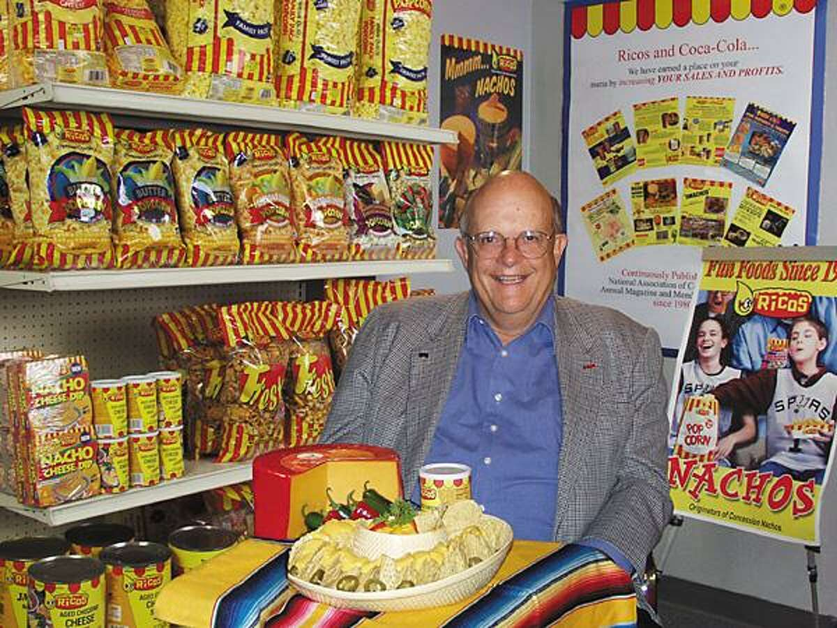 """San Antonio snack food businessman Frank Liberto, who died Sunday, was known as the """"father of the nacho."""""""