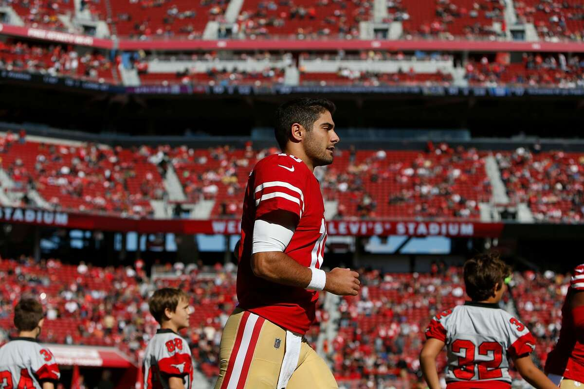 31. San Francisco 49ers (0-9)Previous: 31 C.J. Beathard was sacked five times in the Niners' loss to Arizona, which helps explain why we didn't see Jimmy Garappolo.