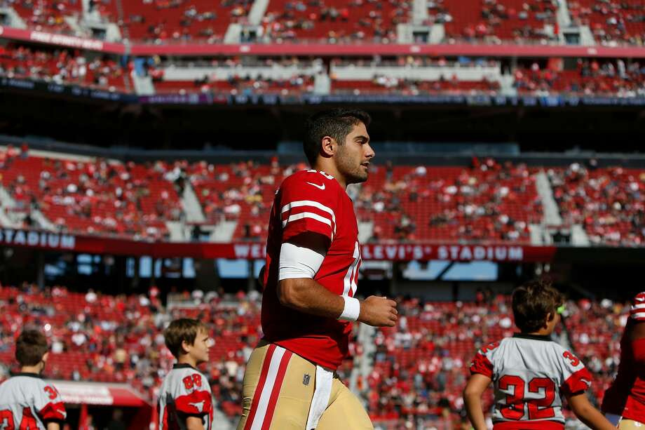 31. San Francisco 49ers (0-9)Previous: 31C.J. Beathard was sacked five times in the Niners' loss to Arizona, which helps explain why we didn't see Jimmy Garappolo. Photo: Lachlan Cunningham/Getty Images