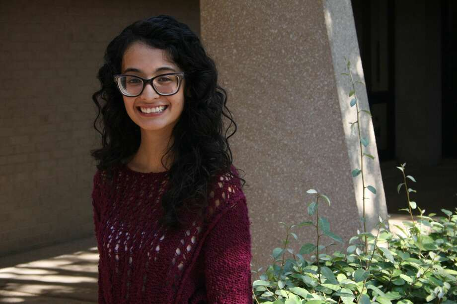 The sky is not the limit for Ashley Raudales because there are footprints on the moon. The 18-year-old engineering major may one day be involved with those moon footprints because she plans to become an aerospace engineer. Photo: Courtesy Photo