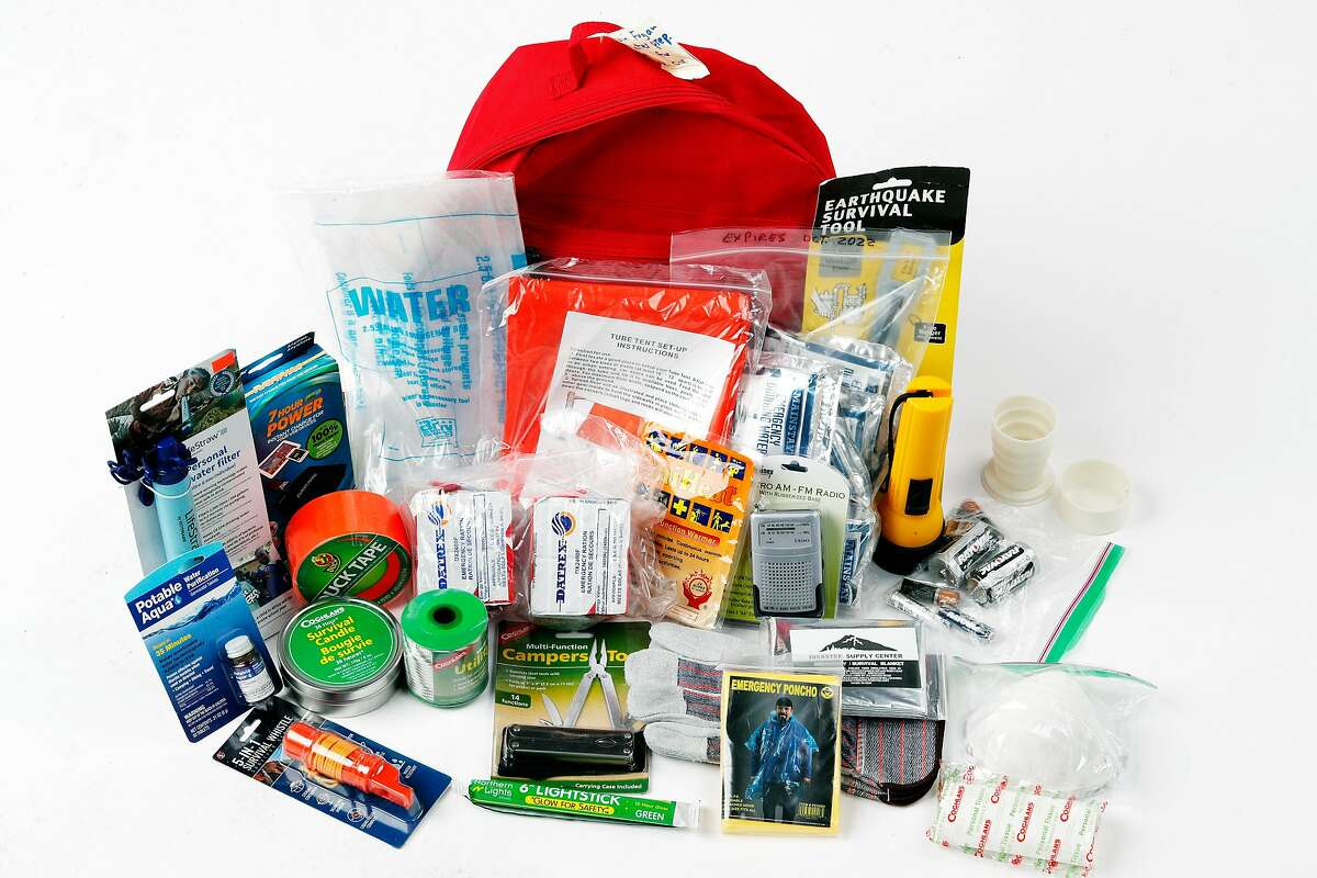 Will I eat all the high protein snacks in my earthquake kit before the Big One hits?