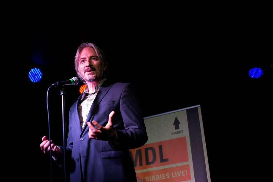 Matt Gonzalez at Muni Diaries. Photo: Right Angle Images