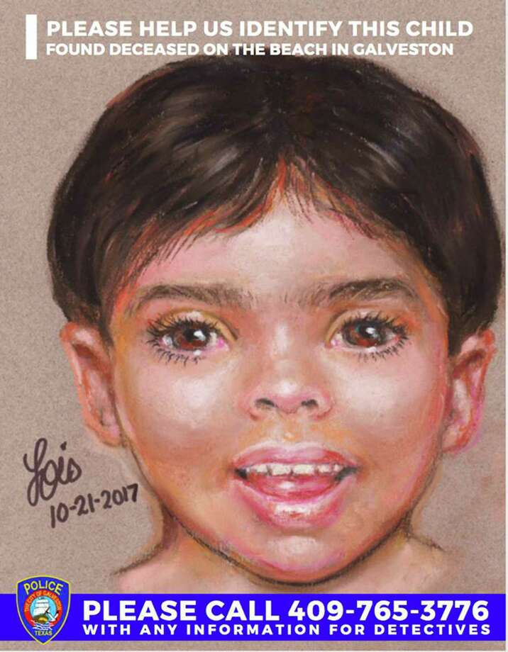 "New details are expected Tuesday in the death of ""Little Jacob,"" the unidentified child whose body was found washed up on a Galveston beach in October. Investigators with the FBI and Galveston Police Department said they will provide autopsy results and new photos of the child, who was first spotted by  a beach-goer along the water in the 700 block of Seawall on Oct. 20. Photo: Lois Gibson, HO / The Island Packet"