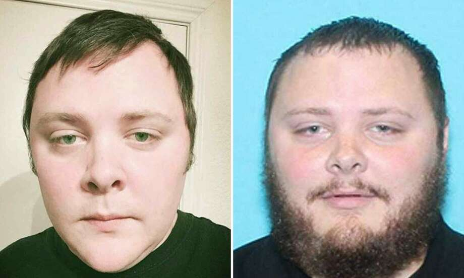 These two images widely distributed on social networks on November 06, 2017, allegedly show 26-year-old Devin Kelley who walked into the church in Sutherland Springs with an assault rifle on November 05, killing 26 people and wounding 20 more.     Sunday's carnage in Sutherland Springs, a rural community of some 400 people southeast of San Antonio, came just five weeks after the worst gun massacre in modern US history, when a gunman killed 58 people at an open-air concert in Las Vegas. / AFP PHOTO / OFF / - / RESTRICTED TO EDITORIAL USE -  NO MARKETING - NO ADVERTISING CAMPAIGNS - DISTRIBUTED AS A SERVICE TO CLIENTS  -/AFP/Getty Images Photo: -, Handout / AFP or licensors