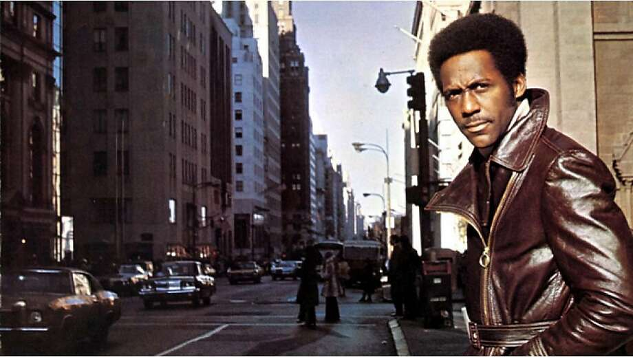 "Richard Roundtree stars in Gordon Parks' 1971 hit ""Shaft."" Photo: MGM, 1971"