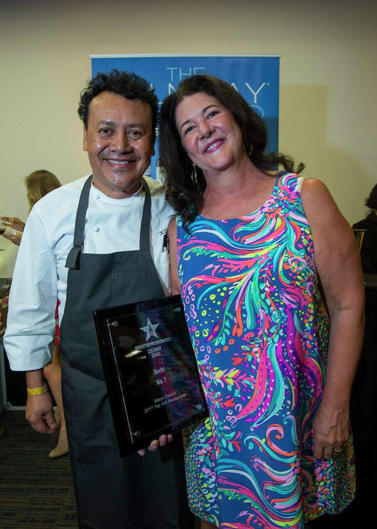 Tracy Vaught, shown with her husband, chef Hugo Ortega, is a semifinalist in the Outstanding Restaurateur category.
