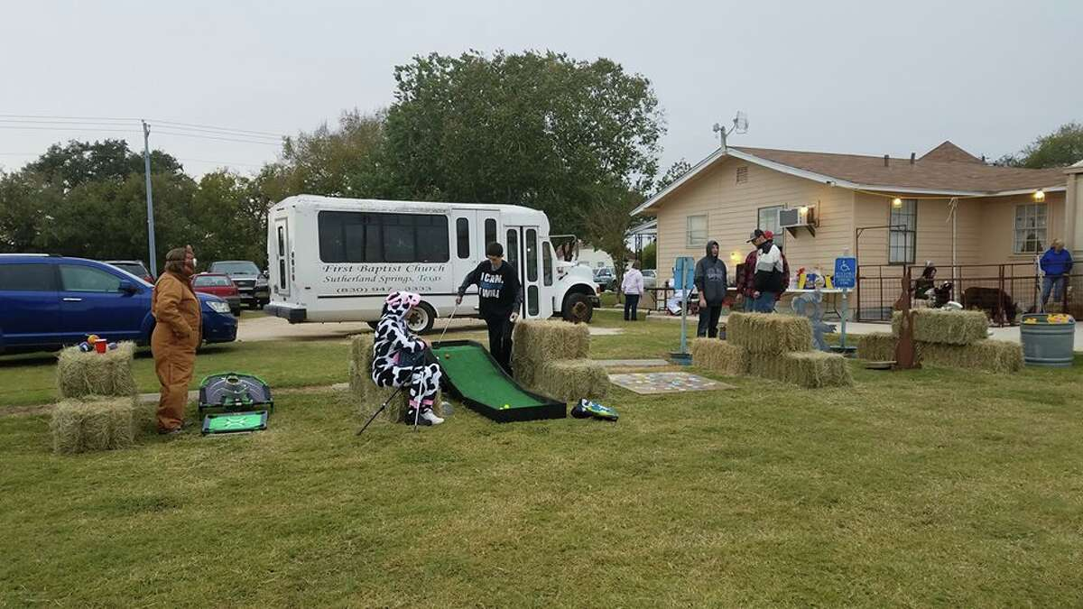 The First Baptist Church of Sutherland Springs hosted a fall festival on Oct. 31, an event the alleged shooter was seen at by local residents. (Facebook photo)