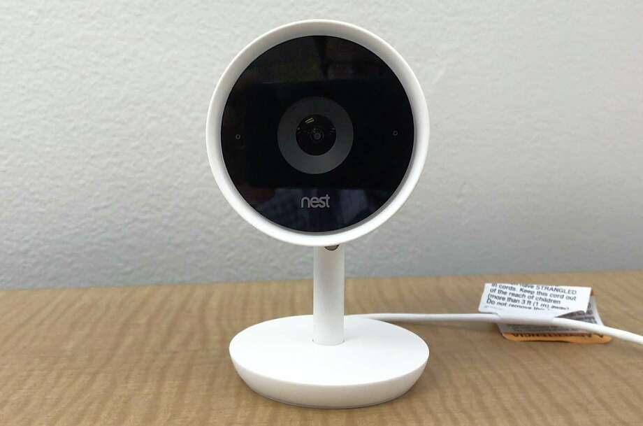 The Nest Cam IQ camera is supposed to be so smart that it can recognize anyone entering its sight line after it has been introduced to someone. That skill comes from facial recognition technology made by sister company Google. Photo: Ryan Nakashima /Associated Press / AP