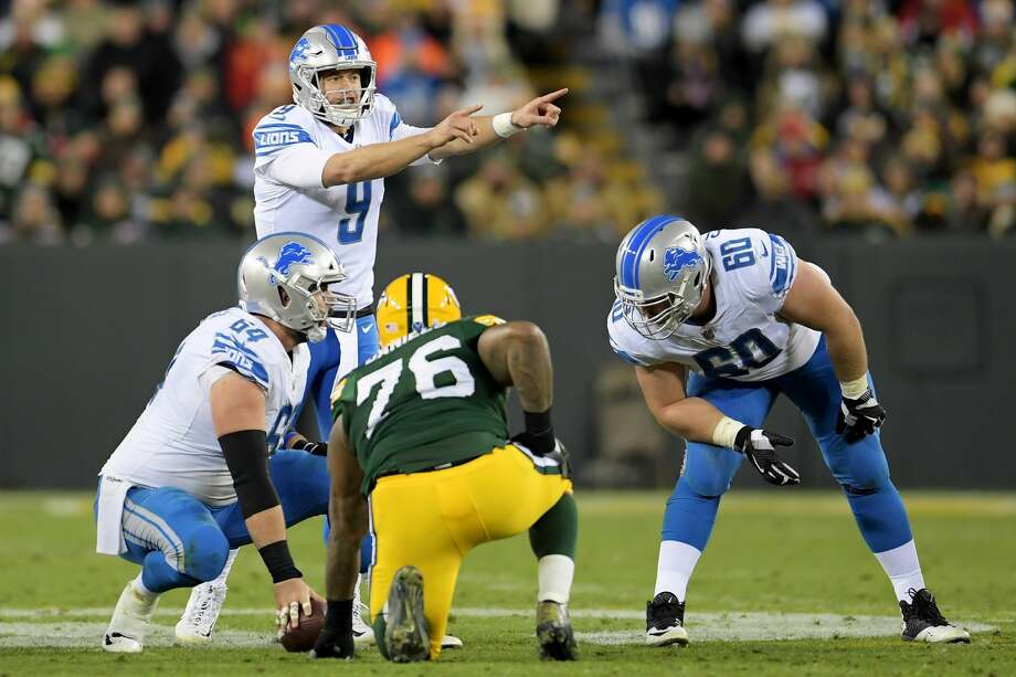 No. 10: Matthew Stafford, Detroit LionsLast week: 13Farrar:With Aaron Rodgers sidelined for the foreseeable future and Stafford playing at such a high level, the Lions are primed to make a late-season run at a division title. But a Thanksgiving Day tilt with the current division-leading Minnesota Vikings certainly looms large. Photo: Stacy Revere/Getty Images