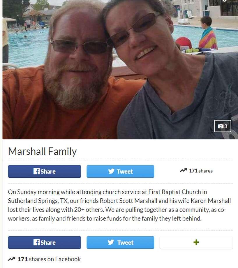 Robert Scott Marshall and Karen Marshall