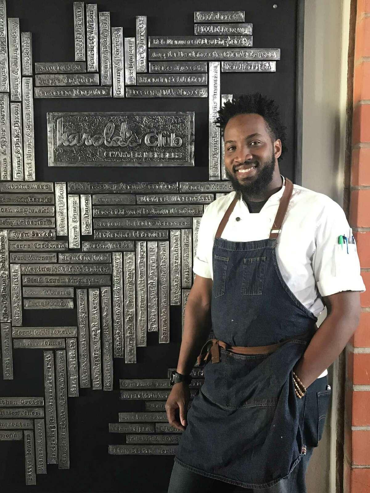 Kenneth Hamilton is the new chef de cuisine of Harold's Restaurant Bar & Terrace.