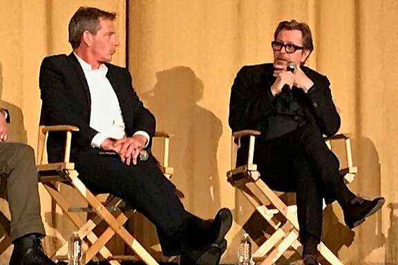 """Darkest Hour' actors Ben Mendelsohn and Gary Oldman on stage at Castro"