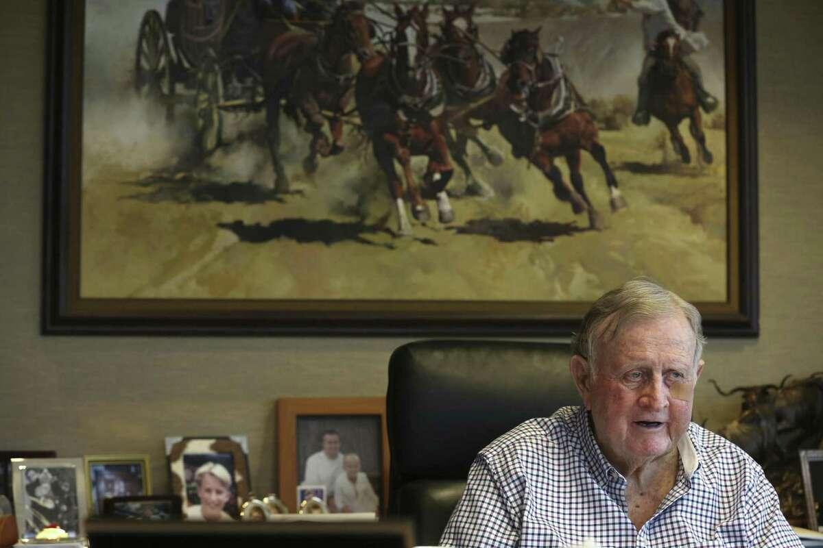 2. San Antonio billionaire investor B.J.
