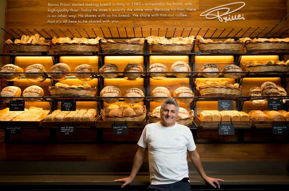 Italian master baker Rocco Princi is shown at the new Princi bakery inside the Starbucks Reserve Roastery in Seattle. Photographed on Thursday, November 2, 2017.  (Joshua Trujillo, Starbucks) Photo: Joshua Trujillo/Starbucks